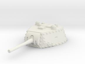 M13 40 Turret 1/72 in White Natural Versatile Plastic
