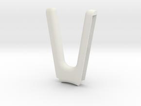 Nintendo Switch - Joy Con Comfort Grip in White Natural Versatile Plastic