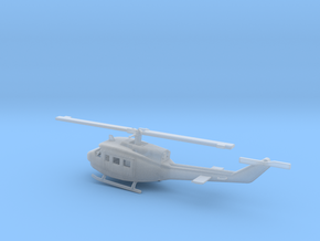 1/160 Scale UH-1J Model in Smooth Fine Detail Plastic