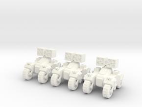 6mm - Assault Anti Air in White Processed Versatile Plastic
