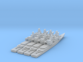 1/3000 Scale Kidd Class DDG in Smooth Fine Detail Plastic