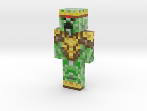 krol_creeper TurboKnight skin REMASTERED | Minecra in Natural Full Color Sandstone