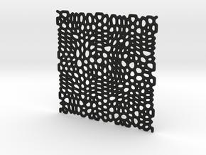Quadrato Molecolare in Black Natural Versatile Plastic