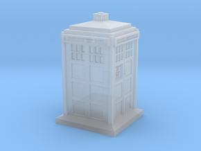 TARDIS Keycap in Smoothest Fine Detail Plastic