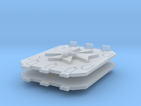 Commission 101 Jericho tank doors #1 in Smooth Fine Detail Plastic