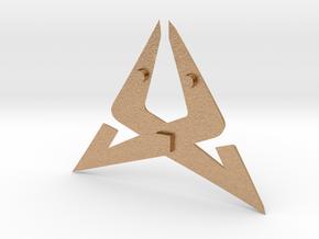 Cupra Logo for Steering Wheel - Logo Part in Natural Bronze