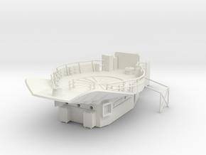 1/96 HMS Garland 120mm platform in White Natural Versatile Plastic