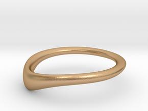 RING STACK V4 bottom in Natural Bronze