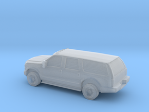 1/72 2010 Ford Excoursion in Smooth Fine Detail Plastic