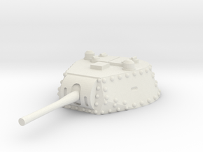 M13 40 Turret 1/32 in White Natural Versatile Plastic