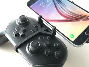Nintendo Switch Pro controller & Samsung Galaxy Xc in Black Natural Versatile Plastic
