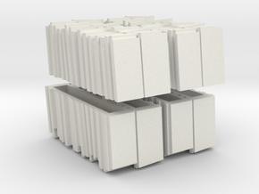 009 Slate Loads x4 in White Natural Versatile Plastic