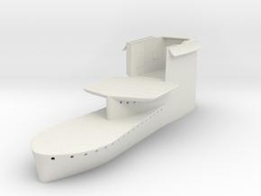 1/48 DKM Uboot VII C41 Conning Tower in White Natural Versatile Plastic