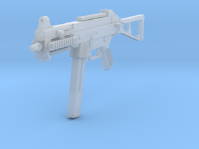 1/12th UMP45gun in Smooth Fine Detail Plastic