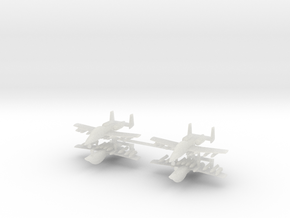 1/600 Two-Seater A-10 Thunderbolt II (Armed) (x4) in Smooth Fine Detail Plastic