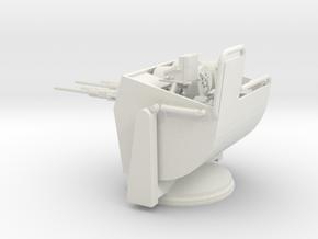 1/32 Elco - PT Turret C-IV (THUNDERBOLT) in White Natural Versatile Plastic