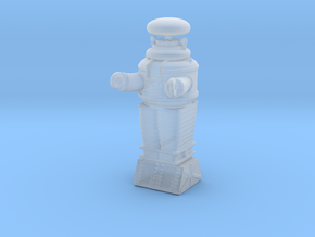 Lost in Space Robot N Scale in Smooth Fine Detail Plastic