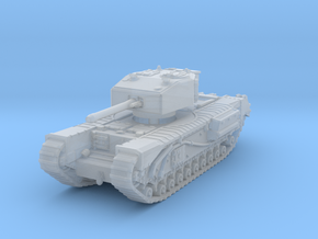 Churchill III 6pdr 1/144 in Smooth Fine Detail Plastic