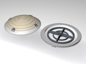 1/350 TUC Refit Bridge Dome Cap in Smooth Fine Detail Plastic