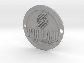 Portland Trail Blazers Custom Sideplate 1 in Aluminum