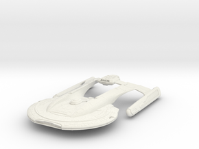 Star Trek USS Akira  in White Natural Versatile Plastic