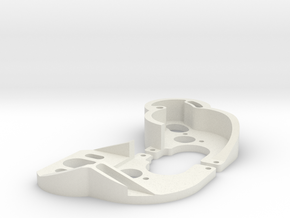 SCX24 130 motor mixed plates in White Natural Versatile Plastic