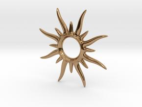 SunSpark Smal in Polished Brass