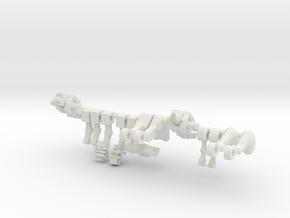 Microclone Rom & Unam Bonus Pack in White Natural Versatile Plastic