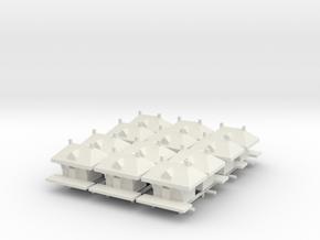 Rail Station  x12 in White Natural Versatile Plastic