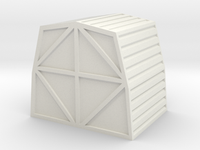1:72 Work Bee Cargo Pod in White Natural Versatile Plastic