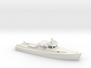 1/160 Scale Chesapeake Bay Deadrise Workboat in White Natural Versatile Plastic