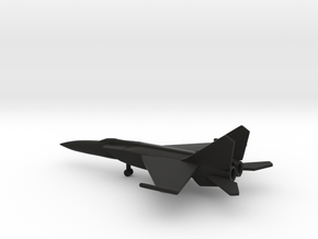 MiG-25PDS Foxbat-E in Black Natural Versatile Plastic: 6mm