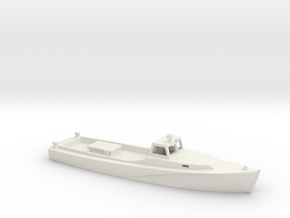 1/160 Scale Chesapeake Bay Deadrise Workboat 3 in White Natural Versatile Plastic