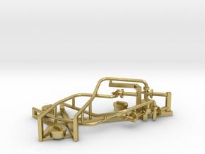 NS 5500 4 zandstrooibuizen en 4 zandkistdeksels NS in Natural Brass