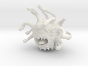 Beholder 28mm in White Natural Versatile Plastic: 28mm