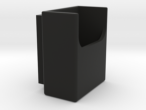 Toothpick Frontbox in Black Natural Versatile Plastic