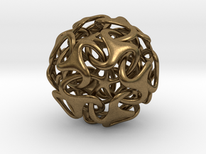 Medusa Ball 38mm in Natural Bronze