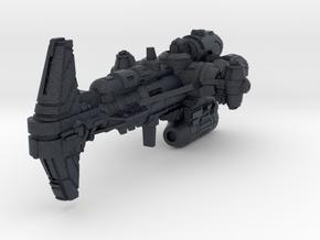 (Armada) Combat Hammerhead Corvette in Black PA12
