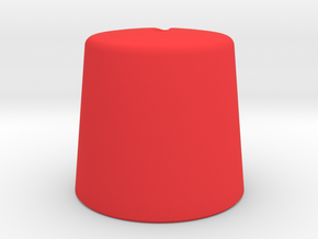 Tivoli Hi-Fi Knob in Red Strong & Flexible Polished