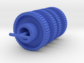 Machine Z Drive Gear in Blue Processed Versatile Plastic: Medium