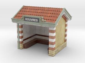 C-NgPLM2-02 - Platform shelter in Glossy Full Color Sandstone