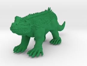 Crystal Palace Hylaeosaurus-Versatile Plastic  in Green Processed Versatile Plastic