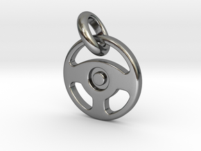 Drive Pendant in Polished Silver (Interlocking Parts)
