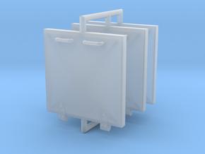 S100 Luken und Compas 1 to 40 in Smooth Fine Detail Plastic