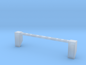 Light_Bar-Chamfer-1to35 in Smooth Fine Detail Plastic