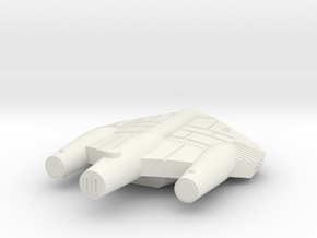 3125 Scale ISC System Defense Frigate (NFF) SRZ in White Natural Versatile Plastic