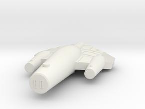 3125 Scale ISC War Destroyer (DW) SRZ in White Natural Versatile Plastic