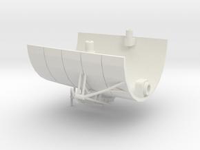 1/350 R class Zeppelin L32 (LZ74) Part 9 in White Natural Versatile Plastic