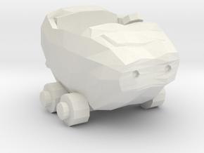 Wacky Racer BOULDER MOBILE 160 scale in White Natural Versatile Plastic