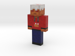 char (5) | Minecraft toy in Natural Full Color Sandstone